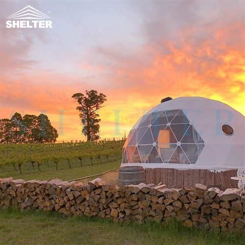 6m Glamping Igloo House for A Weekend Vacation